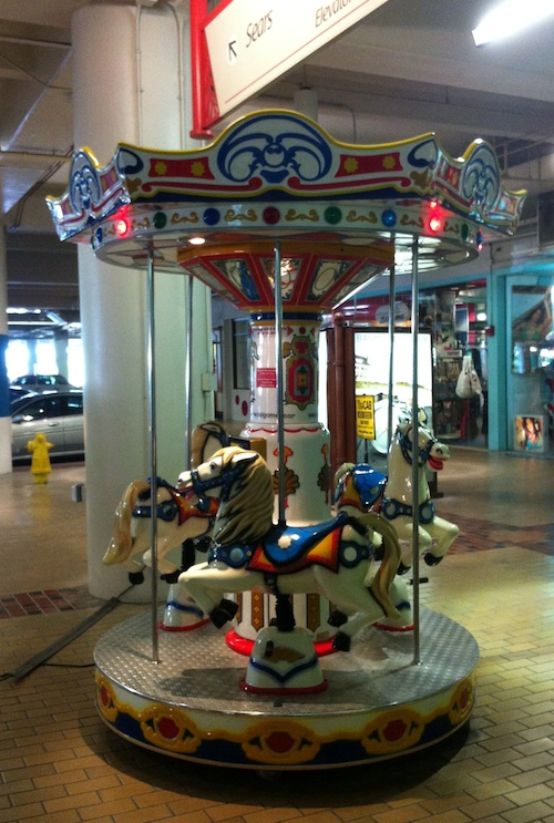 Coin Operated Carousel Ala Moana