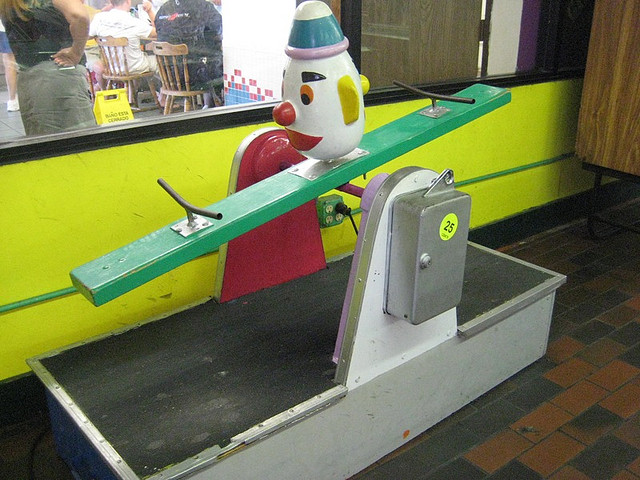 Coin Operated See-Saw