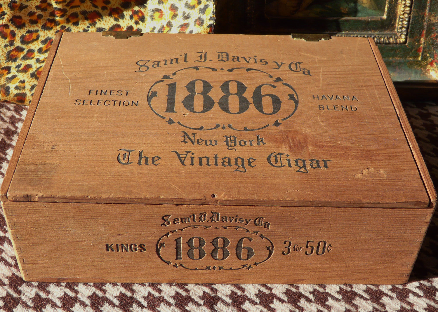 cigar box wood