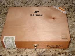 Cigar Box COHIBA