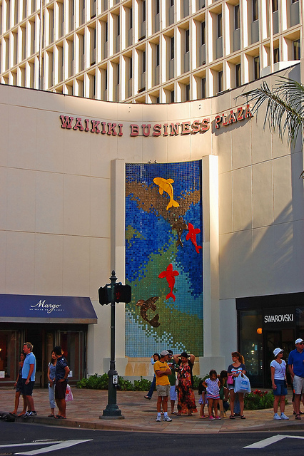 Waikiki Business Plaza Koi