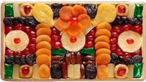 Christmas dried fruits