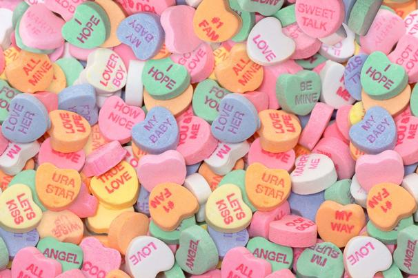 Valentines Day Hearts Candy ~ Quotes