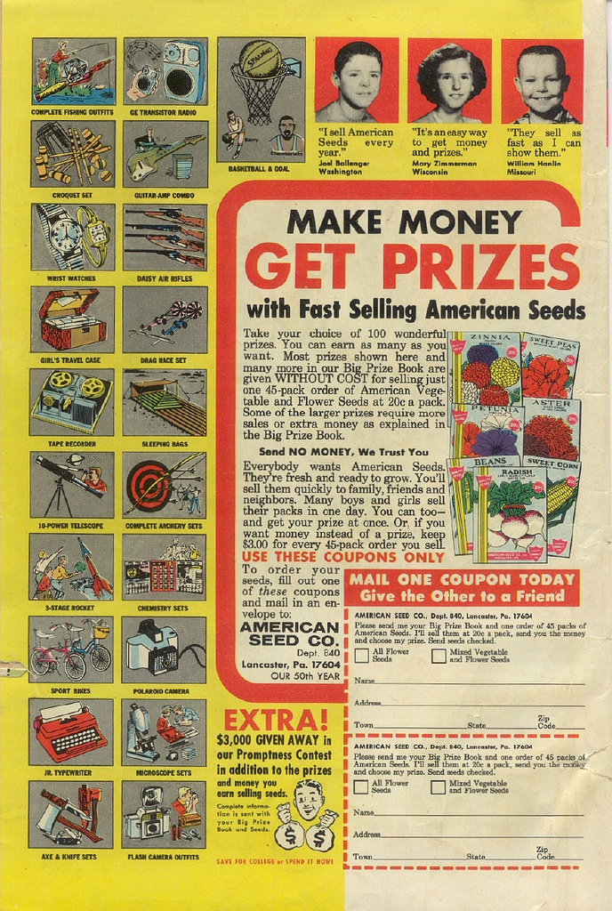 Do You Remember… Comic Ads