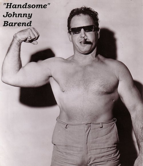 The Wrestling Ring and MEETING Johnny Barend