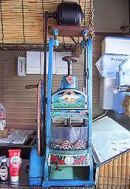 Shave Ice machine vintage